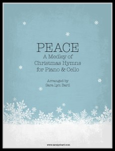 Peace cello