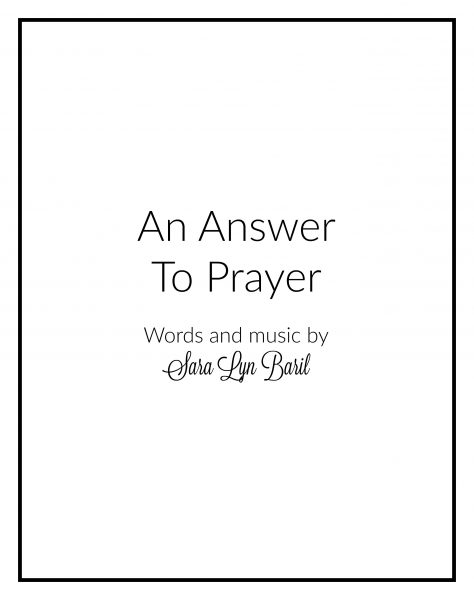 an-answer-to-prayer-cover