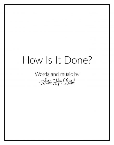 how-is-it-done-cover