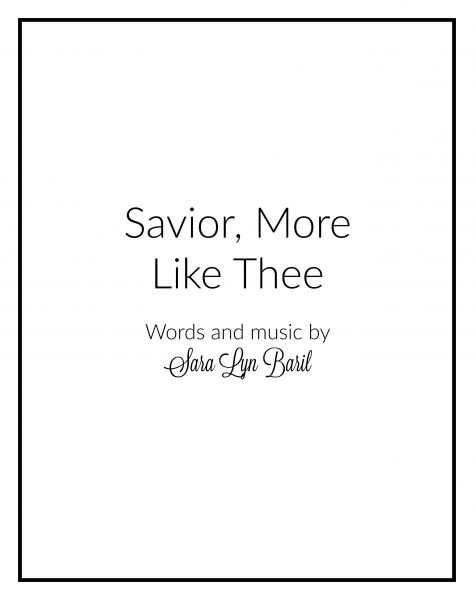 savior-more-like-thee-cover