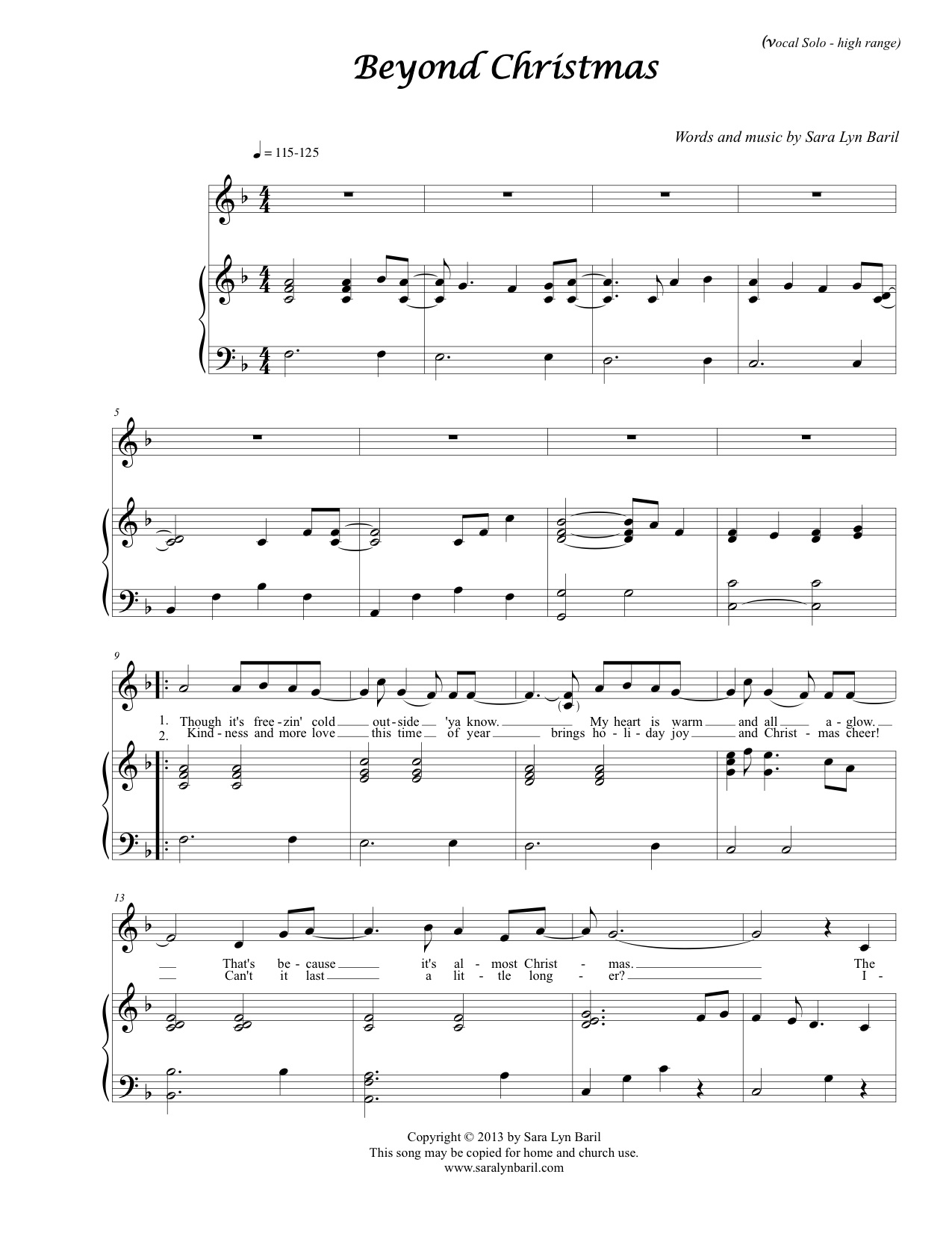 sheet music for beyond the sea pdf