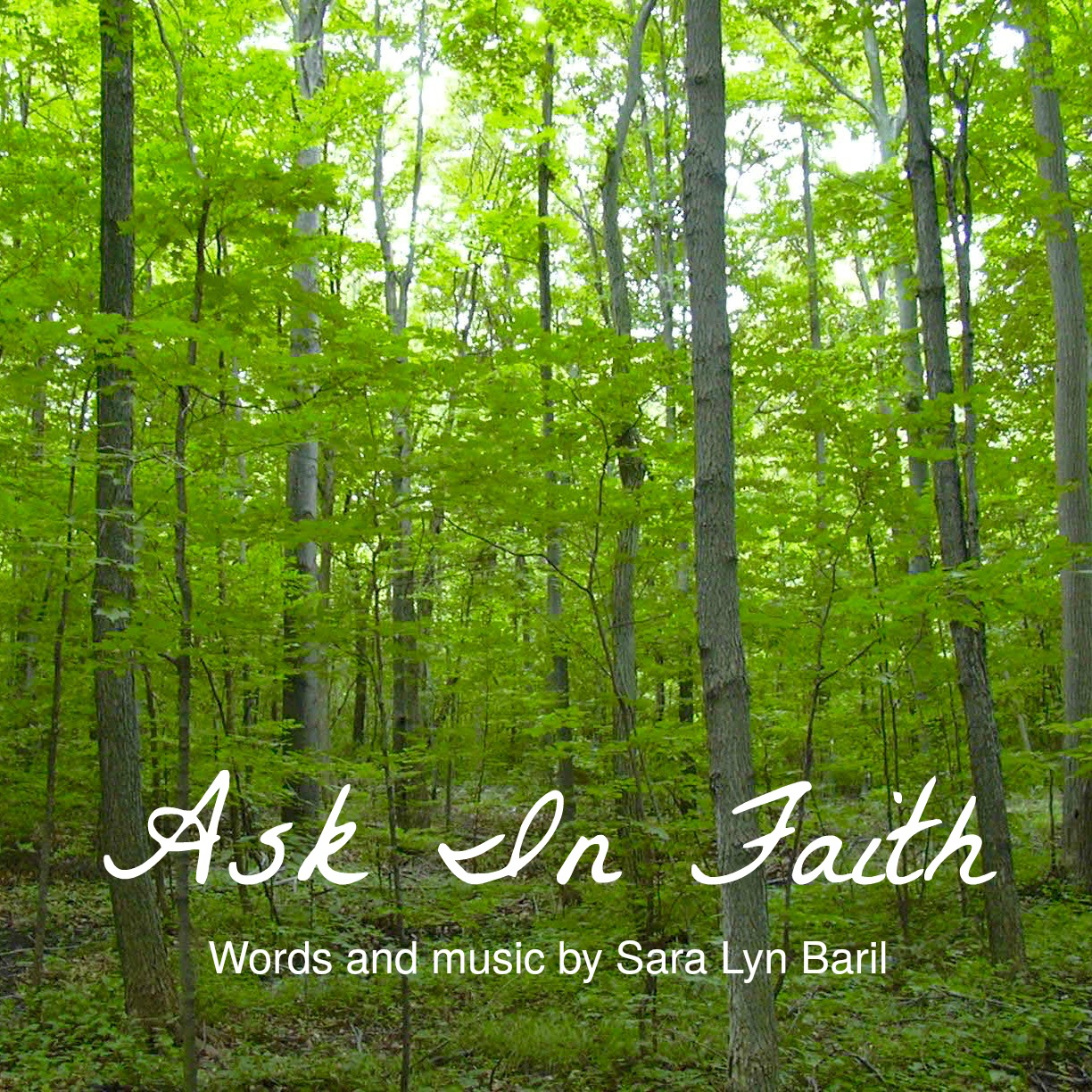 Ask In Faith - PDF Sheet Music
