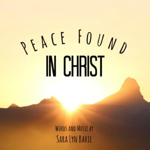 Peace Found In Christ - PDF Sheet music